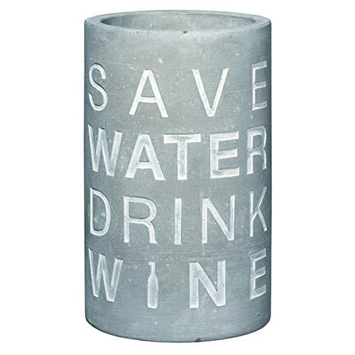 Räder Vino Beton Weinkühler Save Water Drink Wine