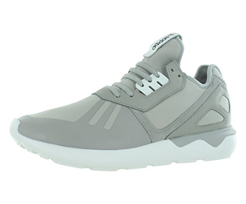 adidas Mens Tubular Runner Fabric Low Top Lace Up Running, Grey, Size 10.5