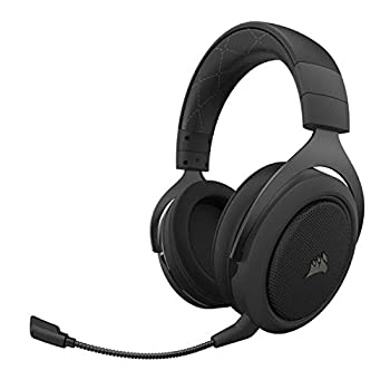 Corsair HS70 Pro Wireless Gaming Headset - 7.1 Surround Sound Headphones for PC PS5 and PS4 - Discord Certified - 50mm Drivers – Carbon  CA-9011211-NA