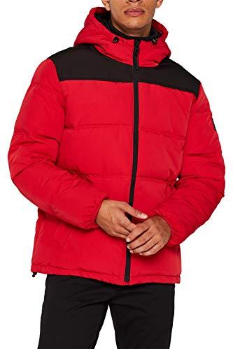ESPRIT Herren 109Ee2G018 Jacke, Rot (Red 630), Medium (Herstellergröße: M)