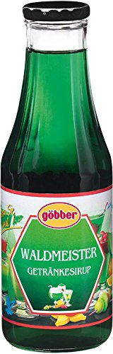 Göbber Waldmeister Sirup, 10er Pack (10 x 500 ml)