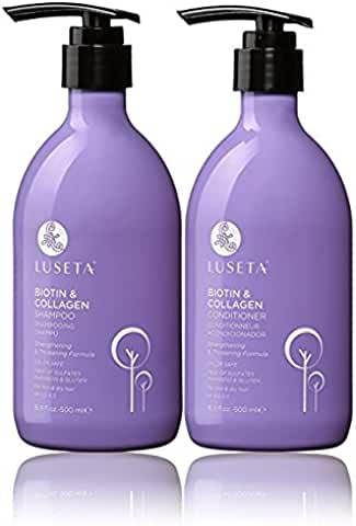 Luseta Biotin & Collagen Shampoo & Conditioner Set
