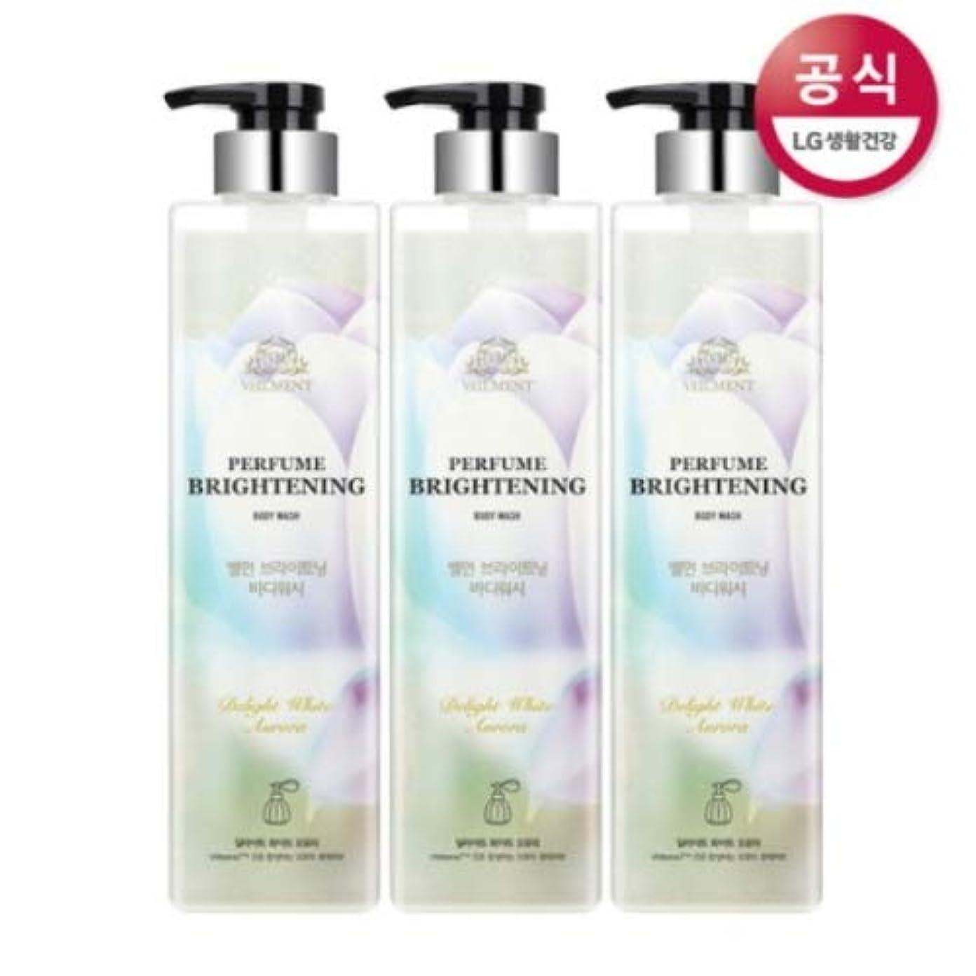 入場驚き増幅する[LG HnB] On the Body Belman Perfume Brightening Body Wash / オンザボディベルモンパフュームブライトニングボディウォッシュ680mlx3個(海外直送品)