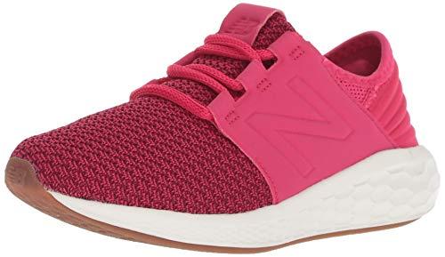 New Balance Fresh Foam Cruz v2, Zapatillas de Running Unisex Adulto, Rosa (Pomegranate/Vortex Fp), 38 EU