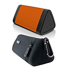 INCREDIBLE 100 FOOT BLUETOOTH RANGE - Play the OontZ Angle 3 Orange Bluetooth Speakers up to 100 unobstructed feet away from your device. Advanced antenna design with Bluetooth 4.2 provides greater wireless range and faster Bluetooth connection; conn...