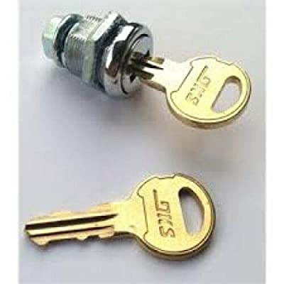 Doorking Cylinder with Keys All Openers,Keypad,Telephone Entry System Manufacture After 1997,1812 Series,1810,1803,1808,1802,1833,1834,1837,DKS DoorKing 4001-035 LockN16058BDxSFx2K Key 16120,