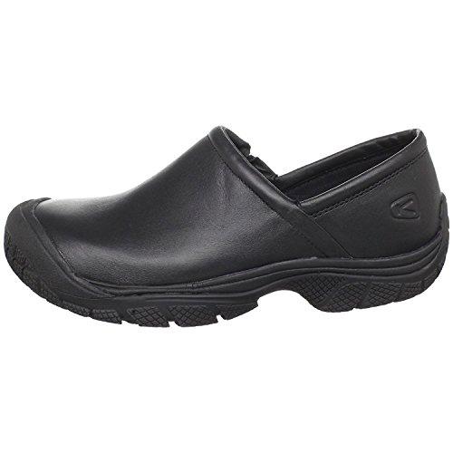 KEEN Utility Men's PTC Slip-ON II-M Industrial Shoe, 7.5 D-Medium Work, Black/Black