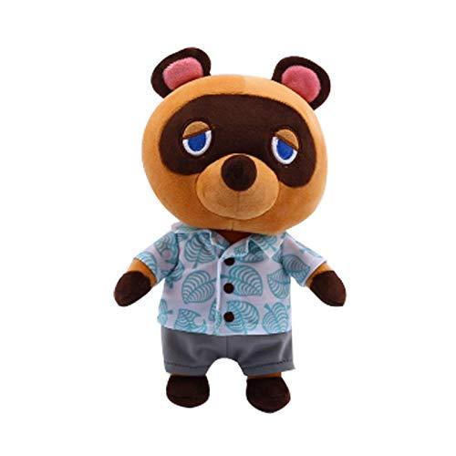 N / A Animal Crossing Plüsch Plüschtier Puppe Cartoon Raymond Free 1 Amiibo Kajingjiang Puppe KK Isabel Plüsch Plüsch Puppe 20-28cm