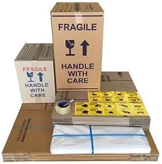 Moving Box Pack – 25 Boxes (10x100L+15x50L)