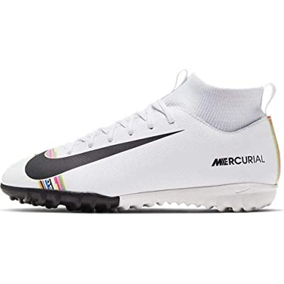 Nike Youth Soccer SuperflyX 6 Academy LVL UP Turf Shoes (5.5 Big Kid US)
