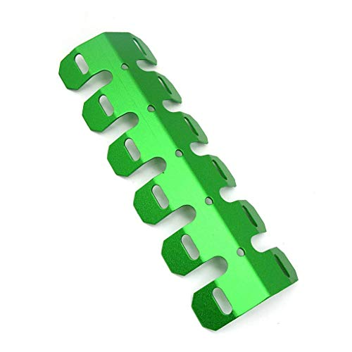 25CM Universal Motorcycle Exhaust Muffler Pipe Leg Protector Heat Shield Cover For All Dirt Bike Off Road Racing (Green)