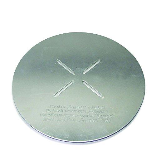 Kela 66595 Flammenverteiler für Käse-Fondue, Aluminium, 15,5 cm Durchmesser, Balerno