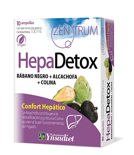 YNSADIET Hepa Detox - 10 Ampollas