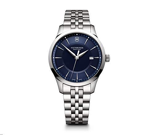 Victorinox Alliance Silver Stainless Steel Strap & Blue Dial Men's Watch 241802