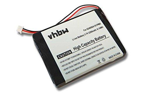 vhbw Li-Ion Akku 2200mAh (3.7V) für Navigation, GPS Blaupunkt Travelpilot TP300 wie 824850A1S1PMX.