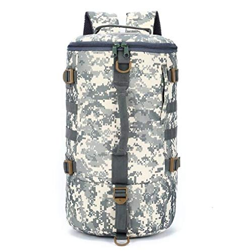 YYMMQQ Sac à Dos d'extérieur,Outdoor Multi Tactical Army Backpack Military Camouflage Suitcase Hunting Mountain Sports Luggage Hiking Camping Bag,ACU Digital