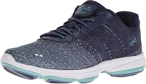 Ryka Women's Dominion OMB Walking Shoe, Medium Blue, 5 M US