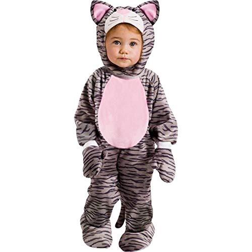 Fun World Little Stripe Kitten Toddler Costume, Large 3T-4T, Multicolor