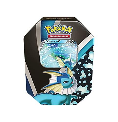 Pokemon TCG: 2021 Fall Eevee Evolutions Tins are up on Amazon  Vaporeon:  Flareon:…