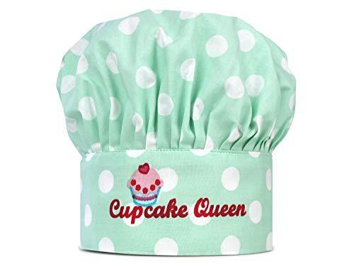 Emily´s Check Kochmütze oder Küchenset für Kinder 468.549, Kinderkochmütze, Cupcake Queen