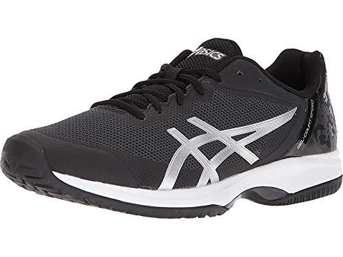 ASICS Gel-Court Speed Shoe – Men's Tennis Black/Silver/White