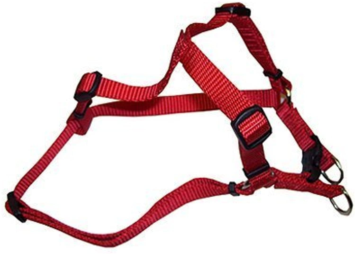 Coastal Pet 06345 A RED16 Adjustable Harness, Red by TV NonBranded Items (Pets)