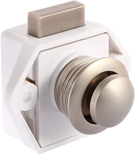 POFET Cierre de botón para armario de muebles sin llave
