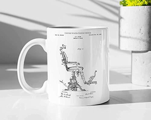 Dentist's Chair 1897 Mug, Doctor Coffee Mug, Gift For Doctor Graduate 11 Oz