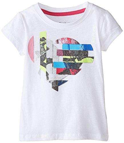 Reebok Active Graphic tee - Camiseta para niña Blanco Corazón Blanco. 6XL