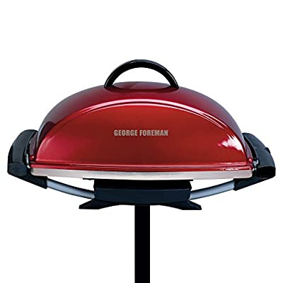 George Foreman GFO201R Indoor/Outdoor Electric Grill