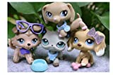 LPSOLD LPS Shorthair Cat 391 LPS Dachshund 909 LPS Collie 893 LPS Cocker Spaniel 748 Dogs Figure with Accessories Lot Kids Girls Gift
