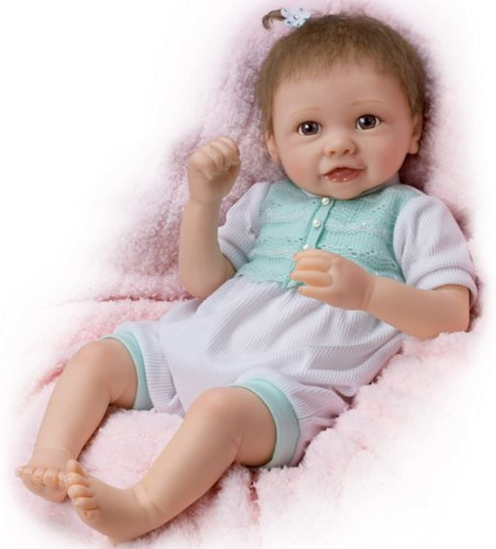 Venta barata Girl Baby Doll Doll Doll  Alyssa's Happy Feet by Ashton Drake by Ashton Drake  autentico en linea