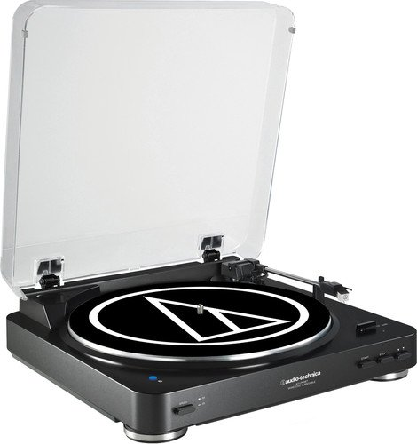 Audio Technica AT-LP 60 BT schwarz Plattenspieler