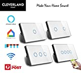 AU Approved Smart WiFi Light Switch Touch Panel for Downlight Google Home Alexa