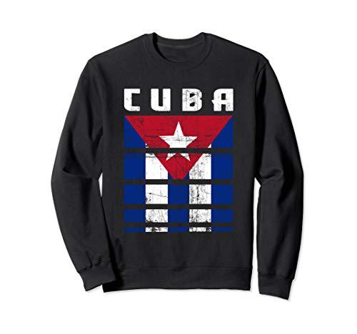 Kuba Kubanische Flagge Bandera Cubana Cuba Sweatshirt