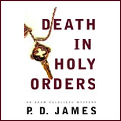 Death in Holy Orders audiobook cover art