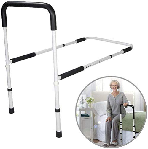 WuLien Bed Assist Rail Support Bar Handle, Bed Rails for Elderly - Hospital Grade Safety Bed Rail for Adults Seniors, Bed Side Handrail, Best Gift for Parents The Elderly in Rehabilitation