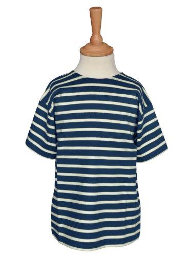 modAS Bretonisches Kinder T-Shirt, Kinder, 140, blau/ecrugestreift