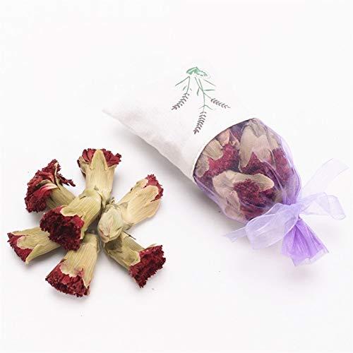 Bureze Lavendel roos knop gedroogde bloem stamen sachet auto garderobe deodorant blijvende muggenwerende sachet vanille anjer jasmijn