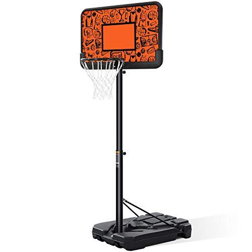 Best Height Adjustable: MaxKare Portable Basketball Hoop