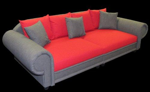 Highlight Polstermöbel Big Sofa im Kolonialstil | Freie Stoff und Farbwahl ohne Aufpreis aus unserem Sortiment (ausser Echtleder)