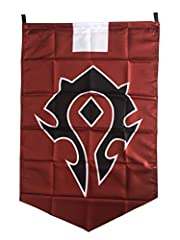 For the horde Material: polyster Size: 98*63CM Pattern crafts: printing