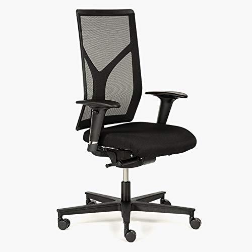 Preisvergleich Produktbild Rovo 1430 S3 Modell R16 Stoff schwarz Büro Design 100000 Scheuertouren