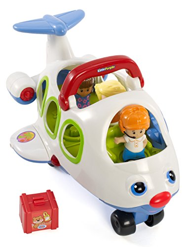 Fisher Price Little People - Lil \'Movers Flugzeug (Versand aus UK)