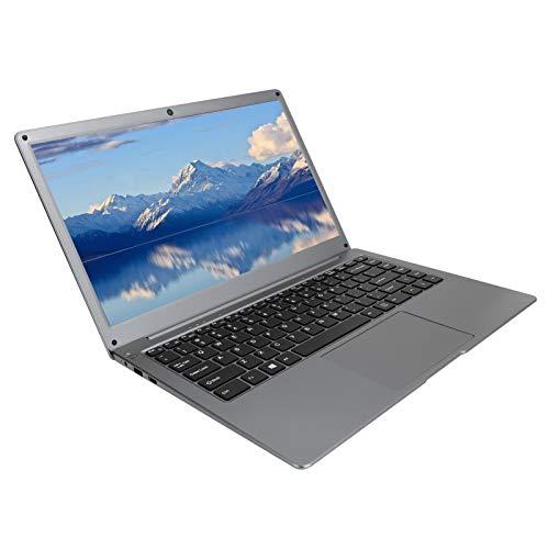 Laptop delgada y liviana - Computadora portátil para empresas y estudiantes - Pantalla FHD de 14 pulgadas 1920 × 1080 - RAM 4GB ROM 64GB - Para procesador Intel Atom Quad Core X5-Z8350(Enchufe EU)
