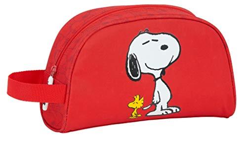 Safta Neceser Grande de Snoopy, 260x160x90mm, rojo, m