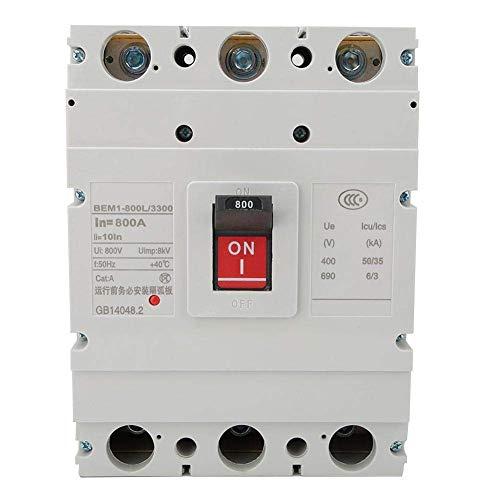 YISUNF Triturador de plástico Shell Circuito Integrado Circuit Breaker 800A 3P 800V Humanización Diseñado