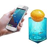 awstroe Fishfinder, Teléfono Móvil Inalámbrico Sensor de Sonda de 36M Echo Fish Finder Fishfinder Fish Detect para iOS Aplicación de Android