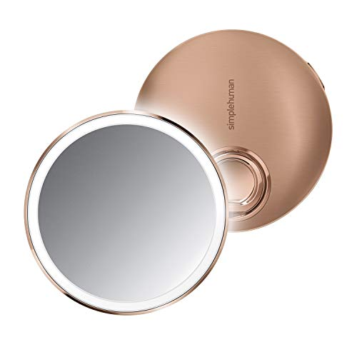 Simplehuman Spiegel, Roestvrij Staal, Rose Goud, 10 mm Diametro