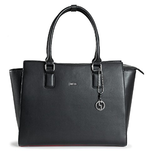 """Socha Business Tasche Caddy Nero Businessbag Laptoptasche Tasche bis 15,6\"""""""